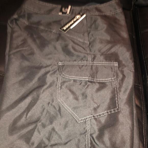 burnside Other - BURNSIDE Black pocketed Shorts Swimwear Mens